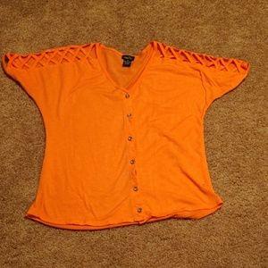 Rue 21 button up shirt size sm